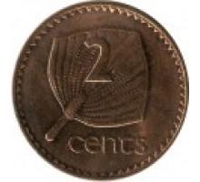 Фиджи 2 цента 1990-2005