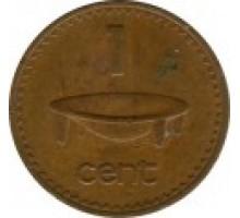 Фиджи 1 цент 1969-1985