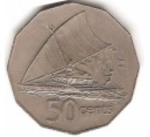 Фиджи 50 центов 1975-1984