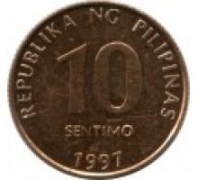 Филиппины 10 сентимо 1995 - 2014
