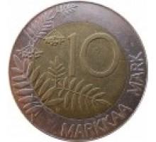 Финляндия 10 марок 1993-2001