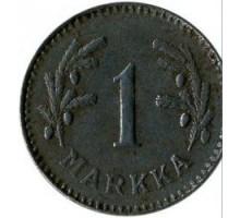 Финляндия 1 марка 1949