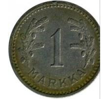 Финляндия 1 марка 1932