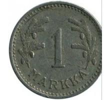 Финляндия 1 марка 1929