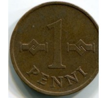 Финляндия 1пенни1963-1969