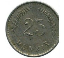 Финляндия 25 пенни 1938