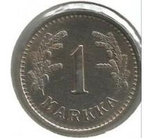 Финляндия 1 марка 1939