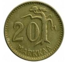 Финляндия 20 марок 1952-1962