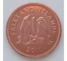 Фолклендские острова 1 пенни 2003-2011