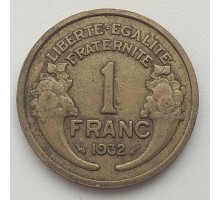 Франция 1 франк 1932