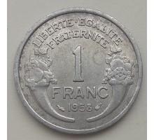 Франция 1 франк 1958