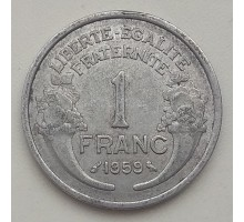 Франция 1 франк 1959
