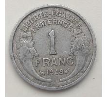 Франция 1 франк 1949