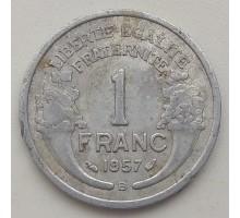 Франция 1 франк 1957 В