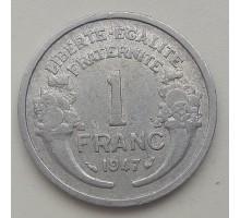Франция 1 франк 1947