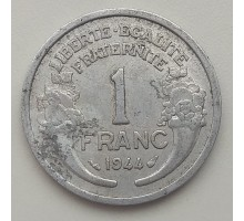 Франция 1 франк 1944