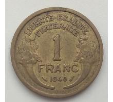 Франция 1 франк 1940
