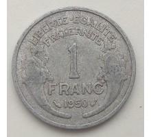 Франция 1 франк 1950