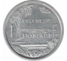 Полинезия Французская 1 франк 1965