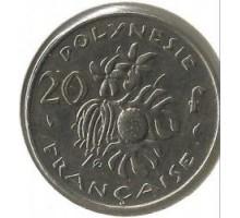 Французская Полинезия 20 франков 1983