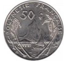 Французская Полинезия 50 франков 2007-2017