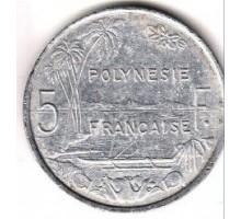 Французская Полинезия 5 франков 1952
