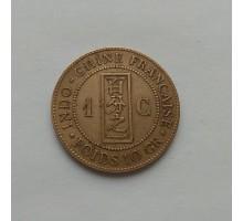 Французский Индокитай 1 сантим 1885