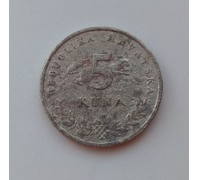 Хорватия 5 кун 2001 (1051)