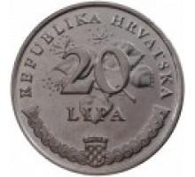 Хорватия 20 лип 1993-2016