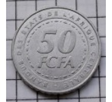 Центральная Африка (BEAC) 50 франков 2006