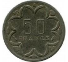 Центральная Африка 50 франков 1976-2003