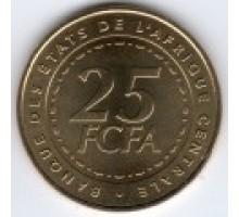 Центральная Африка 25 франков 2006