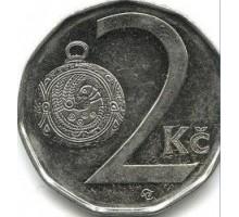 Чехия 2 кроны 1993-2017