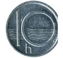 Чехия 10 геллеров 1993-2003