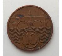 Чехословакия 10 геллеров 1937