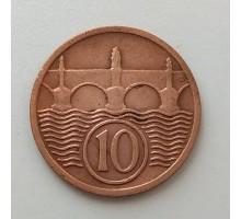 Чехословакия 10 геллеров 1928