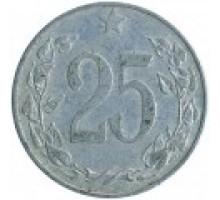 Чехословакия 25 геллеров 1953-1954