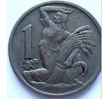 Чехословакия 1 крона 1922