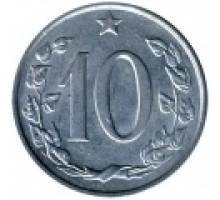 Чехословакия 10 геллеров 1961-1971