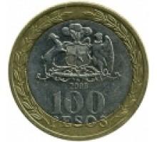 Чили 100 песо 2001-2015
