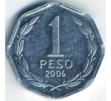 Чили 1 песо 1992-2015