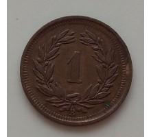 Швейцария 1 раппен 1941