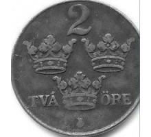 Швеция 2 эре 1948