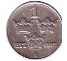 Швеция 1 эре 1918