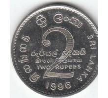 Шри-Ланка 2 рупии 1984 - 2004