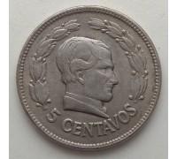 Эквадор 5 сентаво 1928