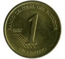 Эквадор 1 сентаво 2000-2003
