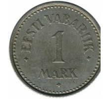 Эстония 1 марка 1922