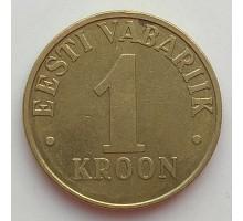 Эстония 1 крона 1998-2006