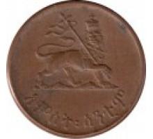 Эфиопия 5 центов 1944